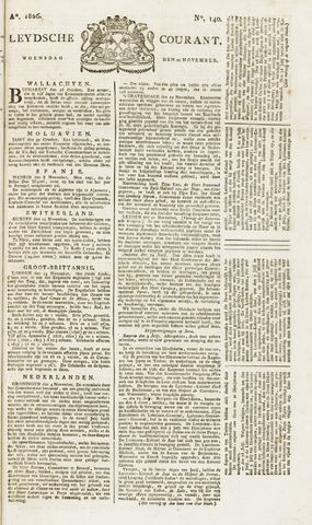 Leydse Courant 1826-11-22