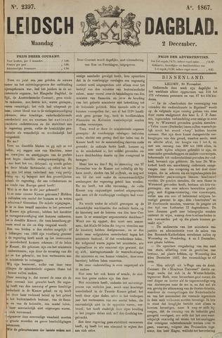 Leidsch Dagblad 1867-12-02