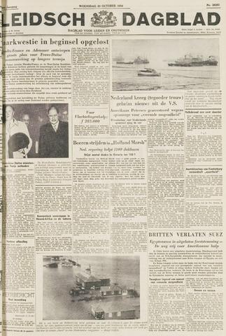 Leidsch Dagblad 1954-10-20