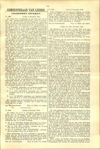Handelingen van de Raad 1913-12-02