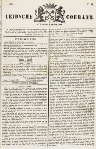 Leydse Courant 1871-02-08
