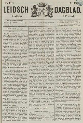 Leidsch Dagblad 1868-02-06