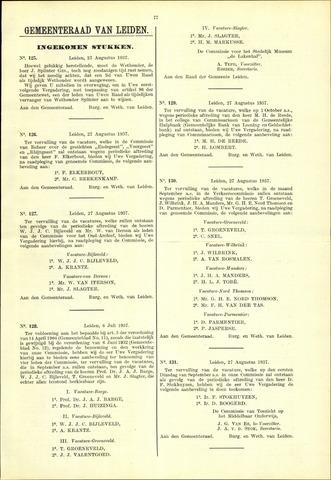 Handelingen van de Raad 1937-08-27