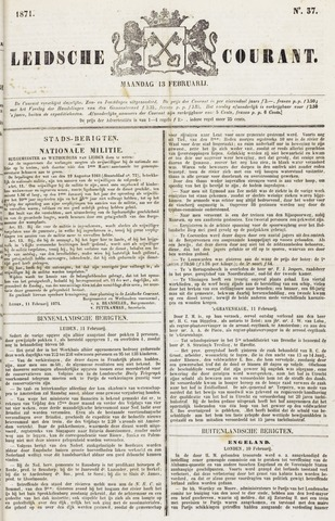 Leydse Courant 1871-02-13