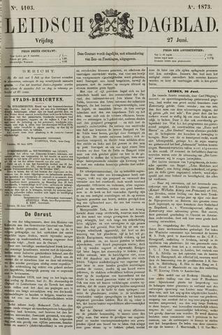 Leidsch Dagblad 1873-06-27