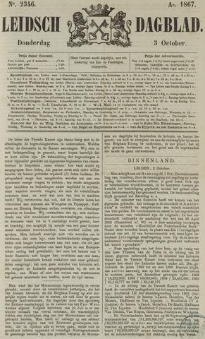 Leidsch Dagblad 1867-10-03