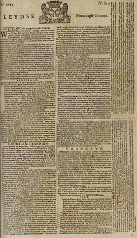 Leydse Courant 1751-09-22
