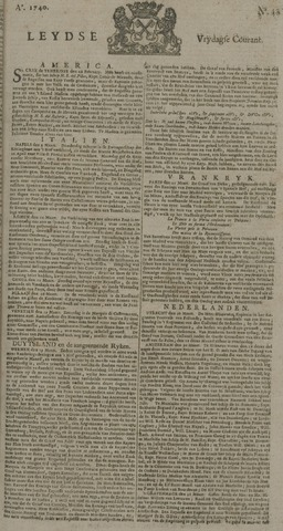 Leydse Courant 1740-04-01
