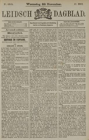 Leidsch Dagblad 1882-11-22
