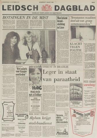 Leidsch Dagblad 1977-10-13
