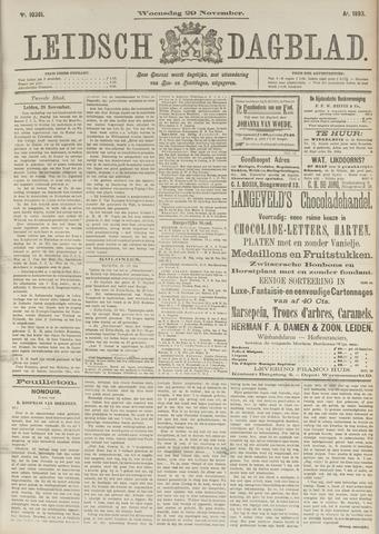 Leidsch Dagblad 1893-11-29