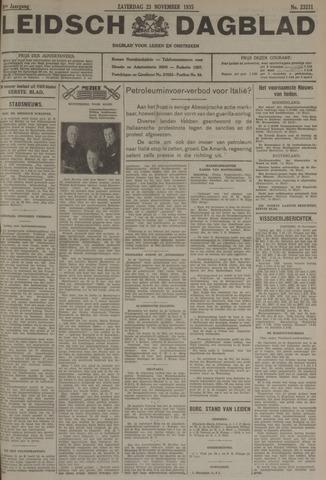 Leidsch Dagblad 1935-11-23