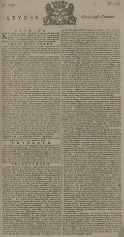 Leydse Courant 1740-09-07
