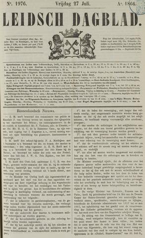 Leidsch Dagblad 1866-07-27
