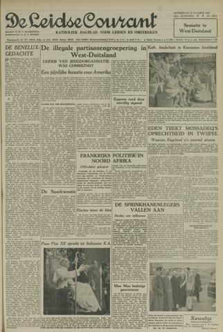 Leidse Courant 1952-10-16