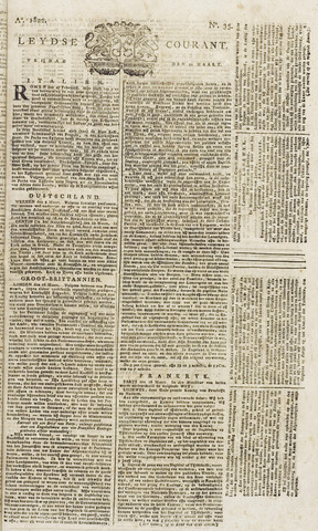 Leydse Courant 1822-03-22
