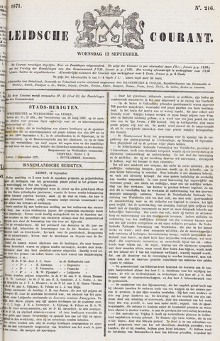 Leydse Courant 1871-09-13