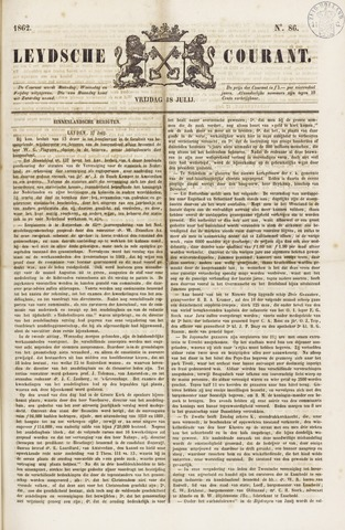 Leydse Courant 1862-07-18