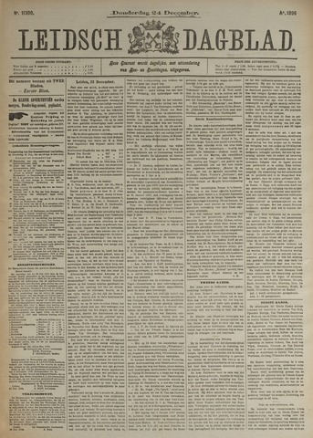 Leidsch Dagblad 1896-12-24