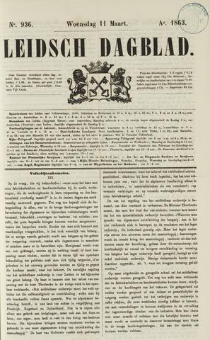 Leidsch Dagblad 1863-03-11
