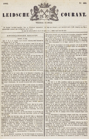 Leydse Courant 1882-07-14