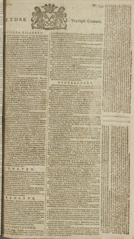 Leydse Courant 1772-11-20