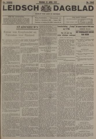 Leidsch Dagblad 1937-04-23
