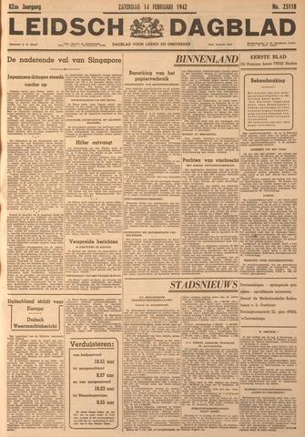 Leidsch Dagblad 1942-02-14