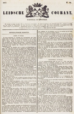 Leydse Courant 1877-02-28