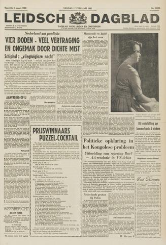 Leidsch Dagblad 1961-02-17