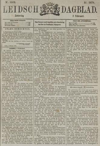 Leidsch Dagblad 1878-02-02