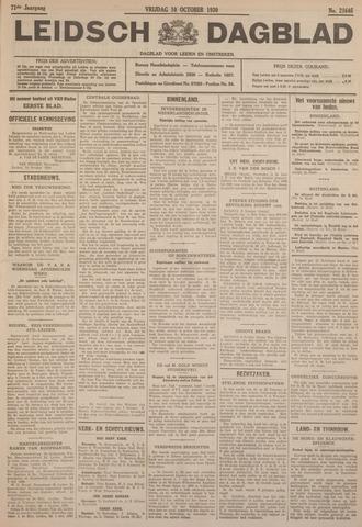 Leidsch Dagblad 1930-10-10