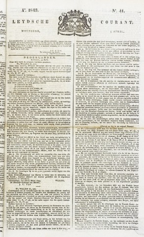 Leydse Courant 1843-04-05