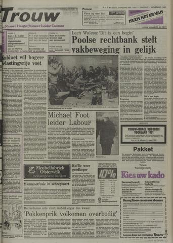 Nieuwe Leidsche Courant 1980-11-11