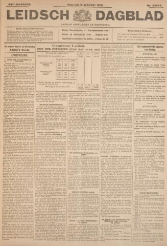 Leidsch Dagblad 1928-01-06