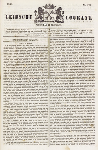 Leydse Courant 1869-12-22