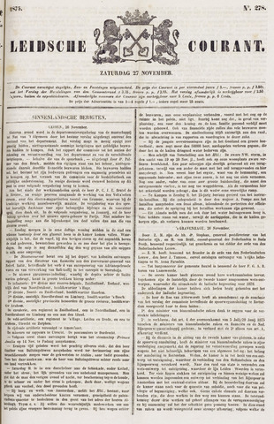 Leydse Courant 1875-11-27