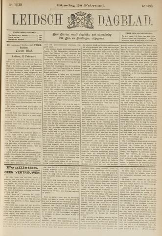 Leidsch Dagblad 1893-02-28