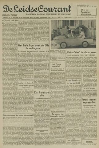 Leidse Courant 1951-04-06