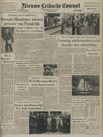 Nieuwe Leidsche Courant 1957-06-13