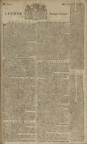 Leydse Courant 1757-10-07