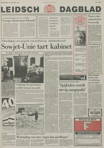 Leidsch Dagblad 1985-10-31