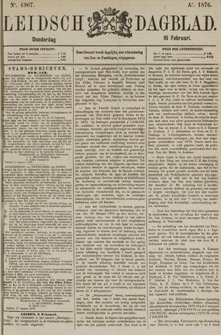 Leidsch Dagblad 1876-02-10
