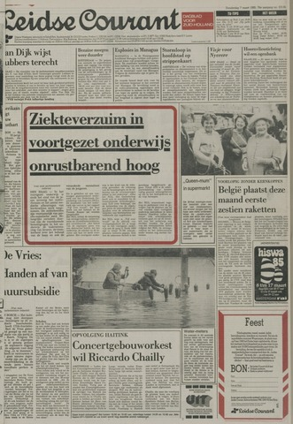 Leidse Courant 1985-03-07