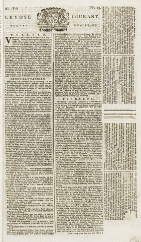 Leydse Courant 1819-02-26