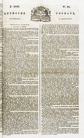 Leydse Courant 1843-08-16