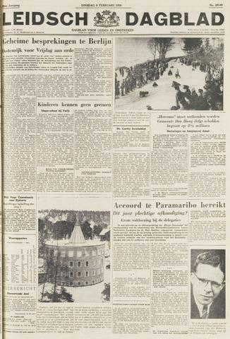 Leidsch Dagblad 1954-02-09