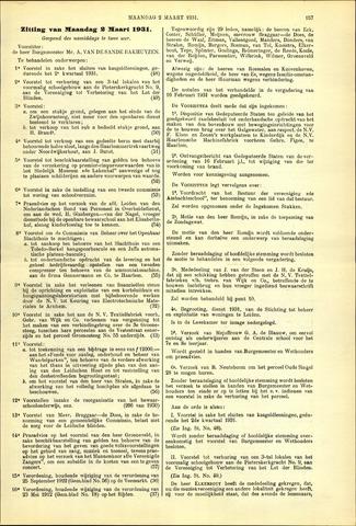 Handelingen van de Raad 1931-03-02