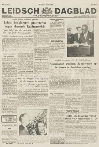 Leidsch Dagblad 1956-10-06