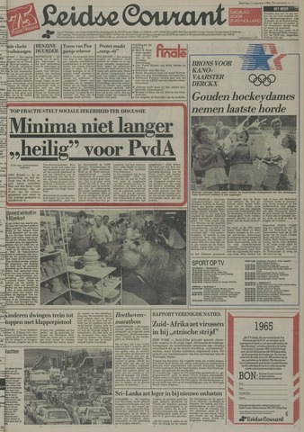 Leidse Courant 1984-08-11